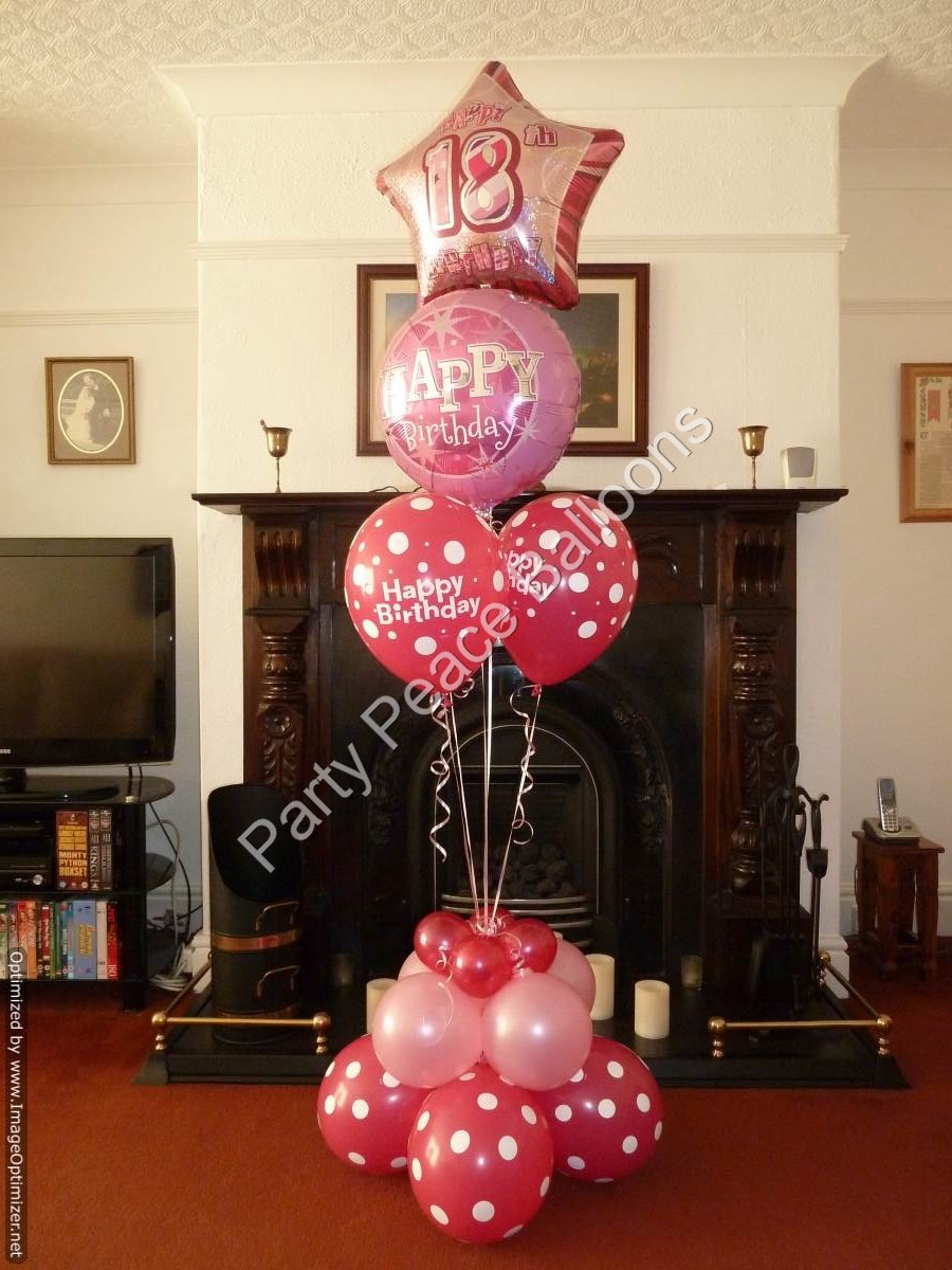 Party Balloons Balloon Bouquets Peace St Helens